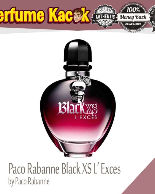 PACO RABANNE BLACK XS L'EXCES 80ML