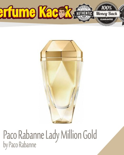 PACO RABANNE LADY MILLION GOLD 80ML