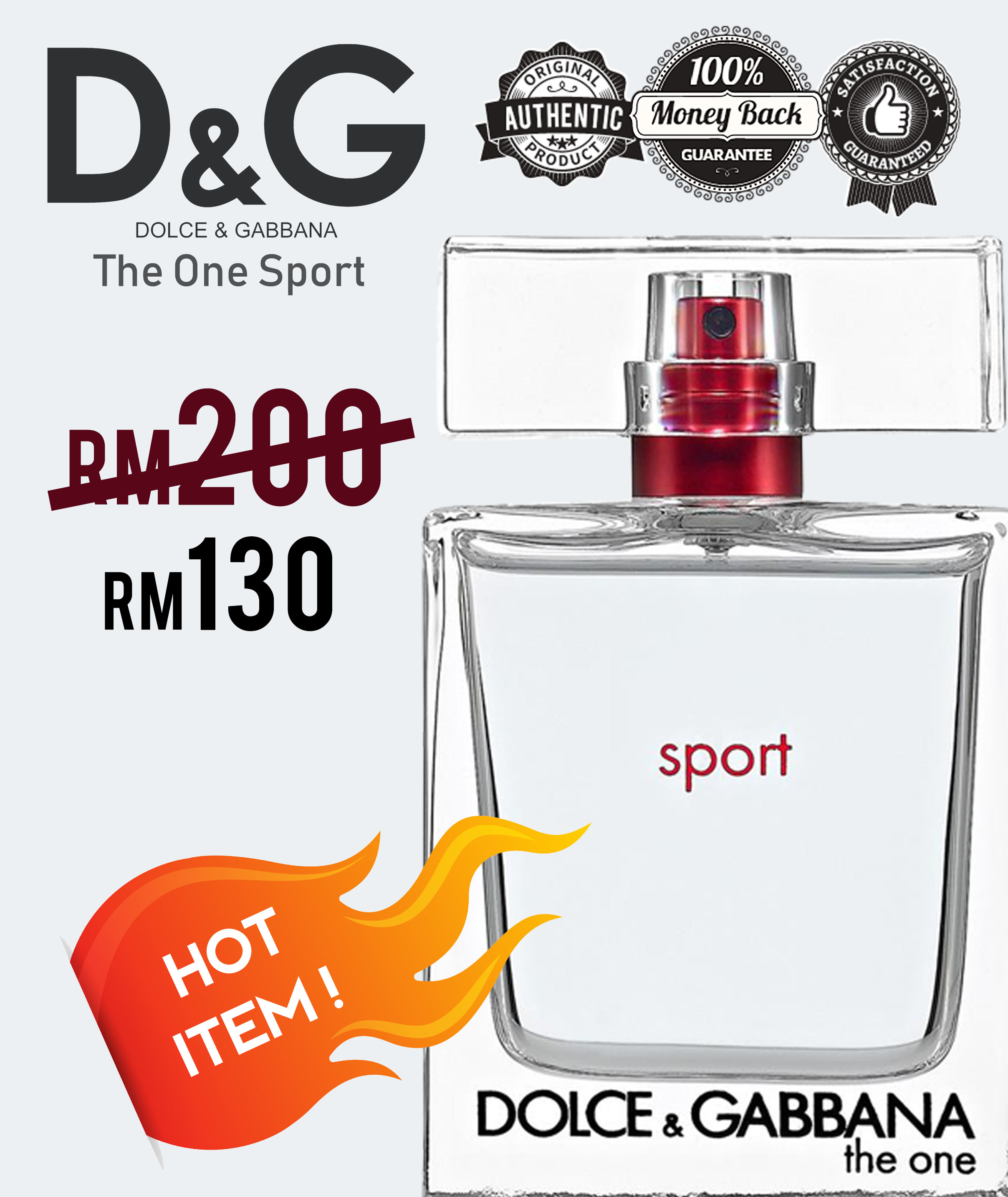 D&G The One Sport